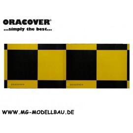 Bügelfolie Fun 6 gelb/schwarz 1mtr.