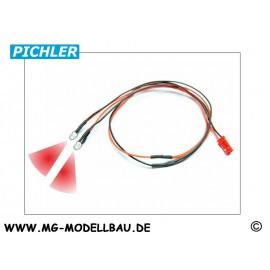LED Kabel rot (2 LEDS)