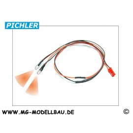 LED Kabel orange (2 LEDS)