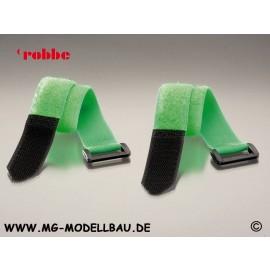 Klettverschlussgurt 25x300mm grün