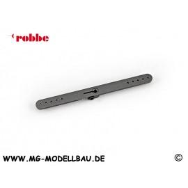 Alu-Servohebel 2-Arm 113mm 25Z.