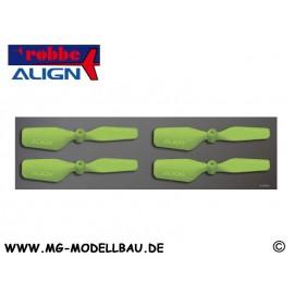T-REX150 Heckrotorblätter grün