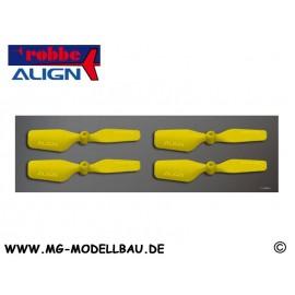 T-REX150 Heckrotorblätter gelb