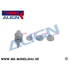 T-REX150 Servogetriebe-Set DS150/155