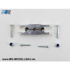 KLEMM - Mittelteil 37/ 8 - Welle 4mm