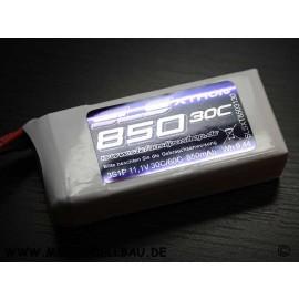 SLS XTRON 850mAh 3S1P 11,1V 30C/60C