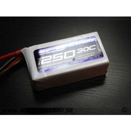 SLS XTRON 1250mAh 3S1P 11,1V 30C/60C