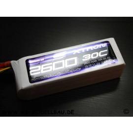 SLS XTRON 2600mAh 3S1P 11,1V 30C/60C