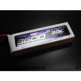 SLS XTRON 3600mAh 3S1P 11,1V 30C/60C