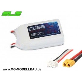 SLS X-Cube 800mAh 2S1P 7,4V 40C/80C