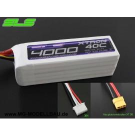SLS XTRON 4000mAh 3S1P 11,1V 40C/80C