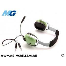 Headset sport aircraft and glider 1:4