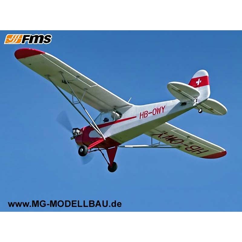 FMS Piper J3 Cub V3 PNP-140cm D-Power DPFMS106P